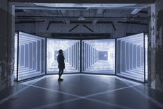 Immersive Light Tunnels Create Illusions of Infinity   The Creators Project