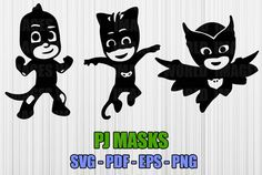 Hey, I found this really awesome Etsy listing at https://www.etsy.com/listing/450696190/pj-masks-owlette-catboy-gekko-svg-high
