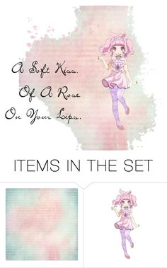 """A soft Kiss..."" by gummybear53 ❤ liked on Polyvore featuring art"