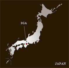 Iga's ninjas, the real story about ninjas.