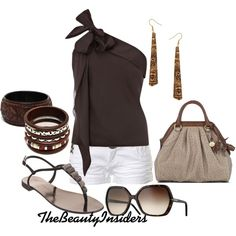 Chocolate...., created by thebeautyinsiders on Polyvore
