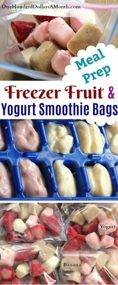 A few weeks ago when we received more fresh bananas than we could eat from a reclaimed food box, I decided to make a few grab and go smoothie bags for the kids. In fact anytime you have extra yogurt or fruit on hand, these DIY freezer fruit and yogurt smoothie bags are great to set aside for …