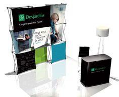 Kiosque d'exposition Desjardins