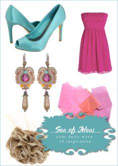 sea_of_ideas with Dori's pink Jazz earrings