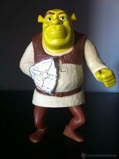 Figura Shrek. Objeto promoción McDonalds. (Juguetes - Figuras de Goma y Pvc - Otras)