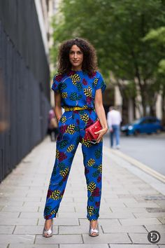 Magnificent look in prints.