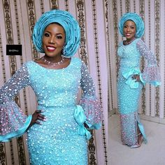 Latest Aso Ebi Styles creative Aso Ebi Styles To Check out Lace Gown Styles, Aso Ebi Lace Styles, African Lace Styles, African Lace Dresses, African Dresses For Women, African Style, Ankara Styles, Nigerian Lace Styles, Lace Gowns
