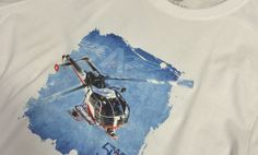 Air-Glacier-T-shirt-Beige-Bleu-Close-1 Aviation, Sci Fi, Social Media, Beige, Instagram, Shirt, Science Fiction, Dress Shirt, Air Ride
