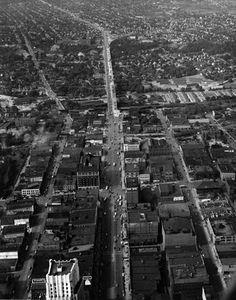 Main Street in Akron, Ohio