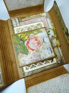 Annette's Creative Journey: Botanical-Themed Collection Folio. Thinking of you sis.
