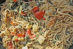 Mangold - Tomaten - Senf - Sahne - Tagliatelle (Rezept mit Bild) | Chefkoch.de