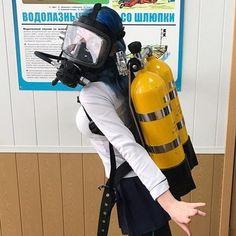 Diving Suit, Scuba Diving, Gas Mask Girl, Scuba Wetsuit, Deep Sea Diver, Latex Suit, Scuba Girl, Photo Finder, Seiko Diver