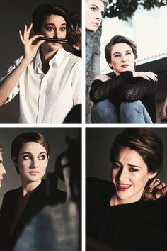 Shailene Woodley for The Hollywood Reporter.