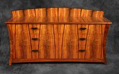 Curly Koa Dresser