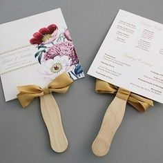 Cute idea for outdoor wedding! Programs | 31 Free Wedding Printables Every Bride-To-Be Should Know About
