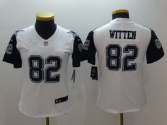 9aa0fff69 ... NFL Gray Limited Jerseys Womens 2016 Dallas Cowboys 82 Jason Witten  Nike White Color Rush Limited Jersey ...