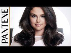 "(HQ) New promotional photo of Selena Gomez for Pantene's ""Strong Is Beautiful"" campaign. Cute Celebrities, Hollywood Celebrities, Celebs, Selena Gomez Haircut, Clavicut, Black Shelton, Selena Gomez Photos, Lob Haircut, Marie Gomez"