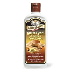 Parker & Bailey Wooden Ware Cleaner & Conditioner