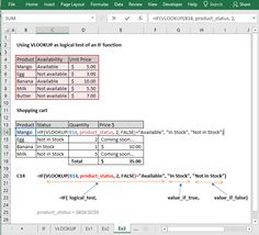 Learn how to use VLOOKUP with if condition in Excel with 5 examples. VLOOKUP is one of the most powerful and top used functions in Excel. Using IF logical function with VLOOKUP makes the formulas more powerful. Vlookup Excel, Page Layout, Conditioner, Management, Tech, Iphone, Learning, Business, Studio