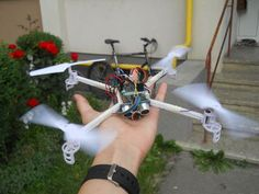 DIY Smart Follow Me Drone With Camera (Arduino Based)