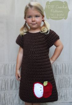Crochet Pattern The Penny Dress Child 23T by NaturallyNoraCrochet, $4.00