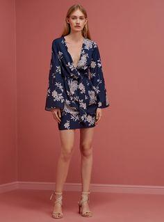 Keepsake No Limits Mini Dress – Bloom Print