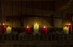 Safe LED Globrite Candles by www.delightedhome.com #globrite #flamelesscandles