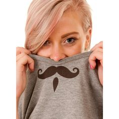Movember vibes with this Dusty Paw moustache T!