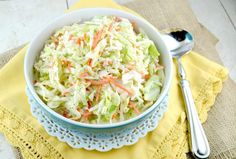 I'm sure you already tried KFC food, if you have, you should know how amazing their coleslaw is! This is my recipe for it! Check it out. You'll Need: ½ cup of mayonnaise. ⅓ cup of sugar. ¼ cup