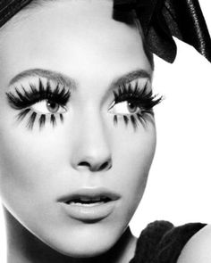 When applying your false eyelashes glamour babes remember to purchase the dark adhesive. This will blend in with your false lashes making them look au naturale. Kiss Makeup, Love Makeup, Beauty Makeup, Makeup Looks, Hair Makeup, Hair Beauty, Black Makeup, Amazing Makeup, Sfx Makeup