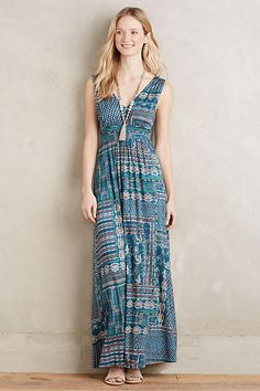 Fairgrounds Maxi Dress - anthropologie.com