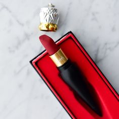 Christian Louboutin Velvet Matte ROUGE LOUBOUTIN Velvet Matte Lip Colour, an opulent colour and soft touch feel, with non-drying comfort. Lip Colour, Lipstick Colors, Red Lipsticks, Ruby Woo, Lipstick For Fair Skin, Liquid Lipstick, Matte Lipstick, Lush Lipstick, Makeup Lipstick