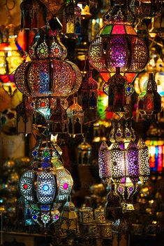 Close-up of multicolored metal carved lanterns hanging at marketplace . Close-up of multicolored metal carved lanterns hanging at marketplace lanterns Morrocan Lamps, Moroccan Lighting, Turkish Lamps, Moroccan Lanterns, Moroccan Tiles, Indian Lamps, Turkish Lights, Turkish Tiles, Lantern Centerpieces