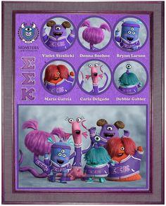 Meet the Disney Pixar Monsters University Fraternities and Sororities!