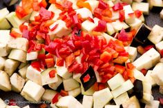 tocanita-rapida-cu-legume-de-vara-2 Romanian Food, Feta, Cheese, Cooking, Kitchen, Brewing, Cuisine, Cook