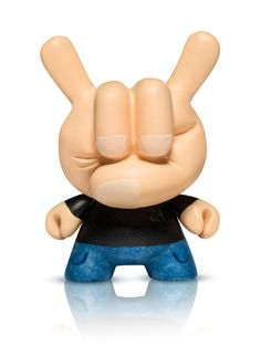 """Charles Rodriguez """"Rock Hand Dunny"""""""