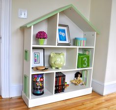 Furniture: Captivating Dollhouse Bookcase For Home Furniture Ideas ...