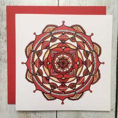 Carte de vœux mandala | Dekaflore