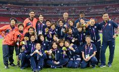 Thank you,all of Nadeshiko Japan!@サッカー女子決勝 銀メダルのなでしこ