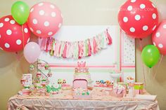 The Party Wagon - Blog - LALALOOPS cute details here