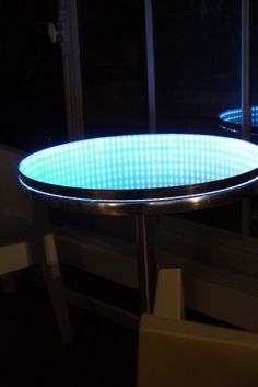 infinity mirror table (#quickcrafter) | best of diy | pinterest