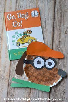 Go, Dog. Go! Paper Plate Kid Craft