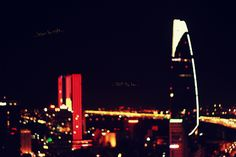 Saigon by nite - view from Chill Sky Bar