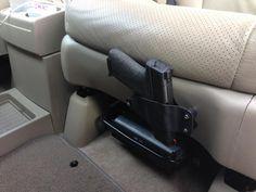Kydex slide holster for car
