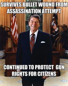 Typical American patriot who had #commonsense believed in the #secondamendment 100%!