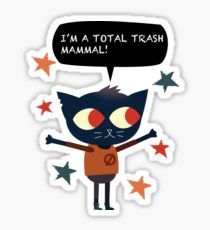 Trash Mammal - Night in The Woods Sticker