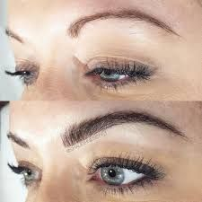 Image result for micro blading shapes on a round face