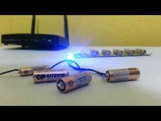Como instalar led com bateria pequena - YouTube