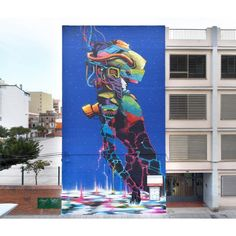 Deih for Miau Fanzara In Castellò, Spain, 2017 Graffiti Art, Yorkie, Pop Art, Spiderman, Street Art, Spain, Superhero, Fictional Characters, Spider Man