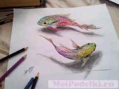 3D рисунки карандашом | Форум MoiPodelki.ru #moipodelki #моиподелки http://moipodelki.ru/forum/view/3d_risunki_karandashom-topic113.html